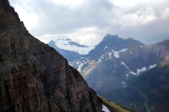 View of Old Sun Glacier from Ptarmigan Trail, Glacier National Park